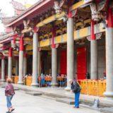 台湾の「商売の神様がいる行天宮」に行って切実にお願いしてきた。