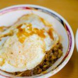 台北西門にある、半熟卵魯肉飯がとても美味しい「天天利美食坊」