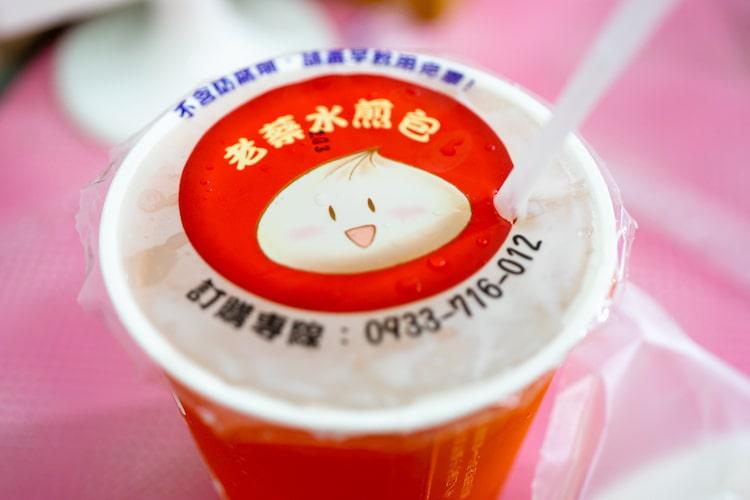茶はミルクティーで、豆乳が苦手な方でも美味しい